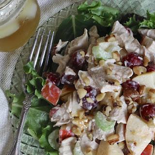 Roast Chicken Waldorf Salad