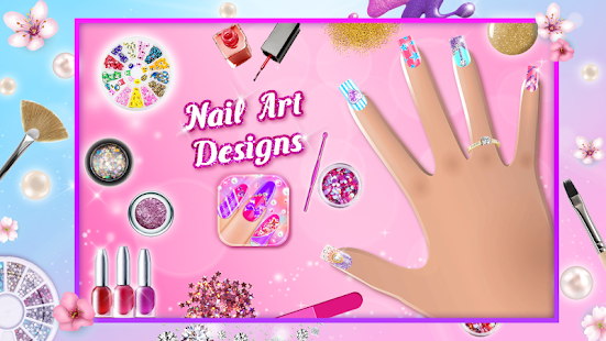 Nail art designs game android apps on google play nail art designs game screenshot thumbnail prinsesfo Choice Image
