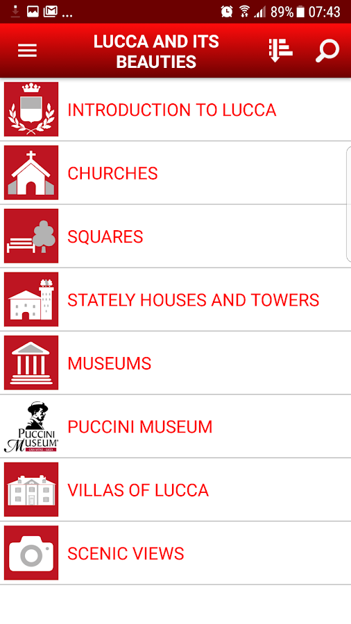 LUCCA 4 YOU THE GUIDE OF LUCCA- screenshot