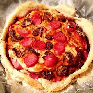 Tikka Masala Pizza Cake