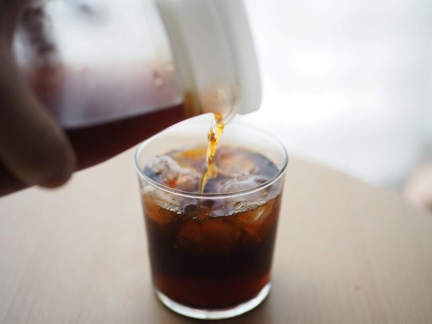 急冷アイスコーヒー