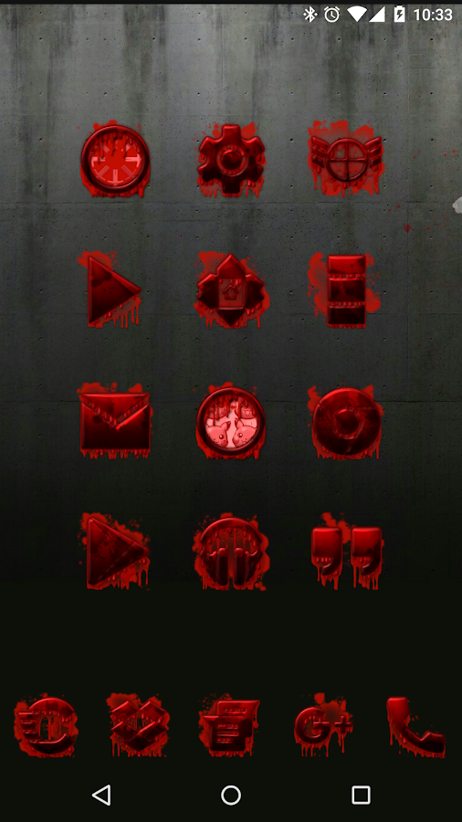 Tha Blood - Icon Pack- screenshot