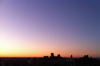 Photo: Sunset over Manhattan