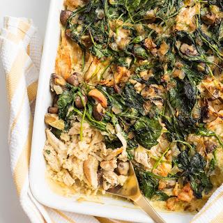 Paleo Chicken and Celeriac Rice Casserole Recipe