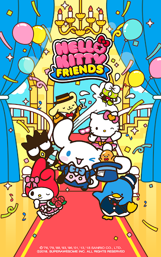 Hello Kitty Friends - Tap & Pop, Adorable Puzzles  gameplay | by HackJr.Pw 16