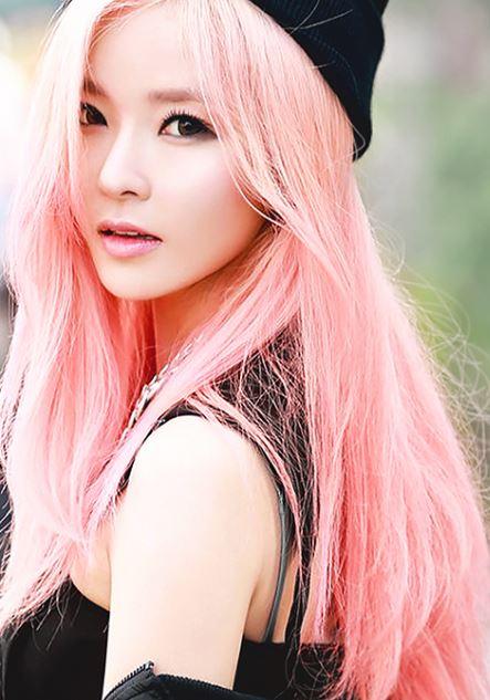 gayoon-4-minute-pinkhair