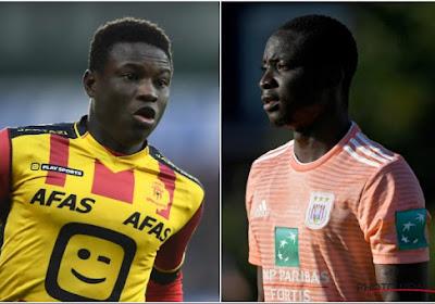 Hassane Bandé werd in de voorbereiding van het veld getrapt door Mohamed Dauda