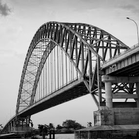 Rumpiang Bridge, Banjarmasin by Re Rahnavarda - Transportation Other