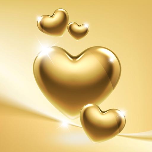 Gold Heart Wallpaper Apps On Google Play