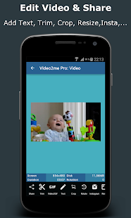 Video2me Pro: Video, GIF Maker Screenshot