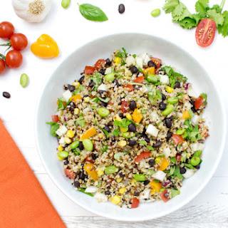 Quinoa Confetti Salad [vegan]