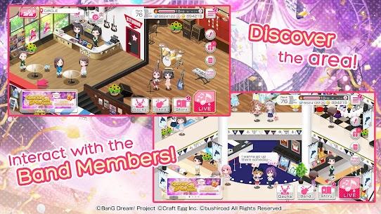 BanG Dream! Girls Band Party! Mod Apk 4.5.0 (Menu Mod + God Mode) 7