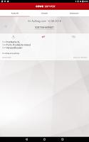 Screenshot of cewe service