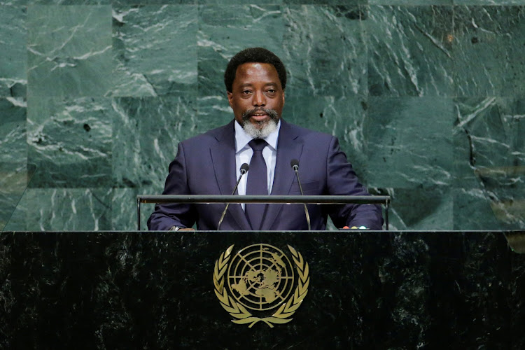 Joseph Kabila Kabange, President of the Democratic Republic of the Congo