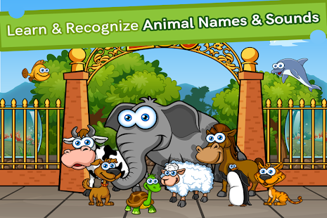 Zoolingo Free Preschool Zoo Puzzles Games Toddlers- screenshot thumbnail