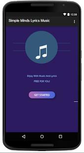 Simple Minds Lyrics Music - náhled