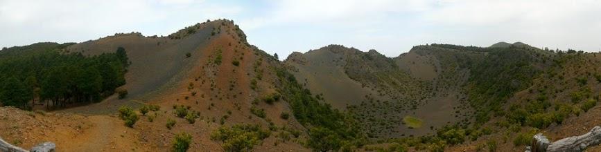 Photo: der größte Krater Hoya de Fileba