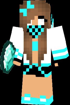 herobrine girl nova skin