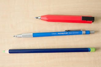 Photo: Worther Shorty Mechanical Pencil http://www.parkablogs.com/node/11692