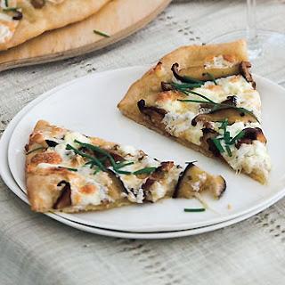Shiitake Pizza Recipes