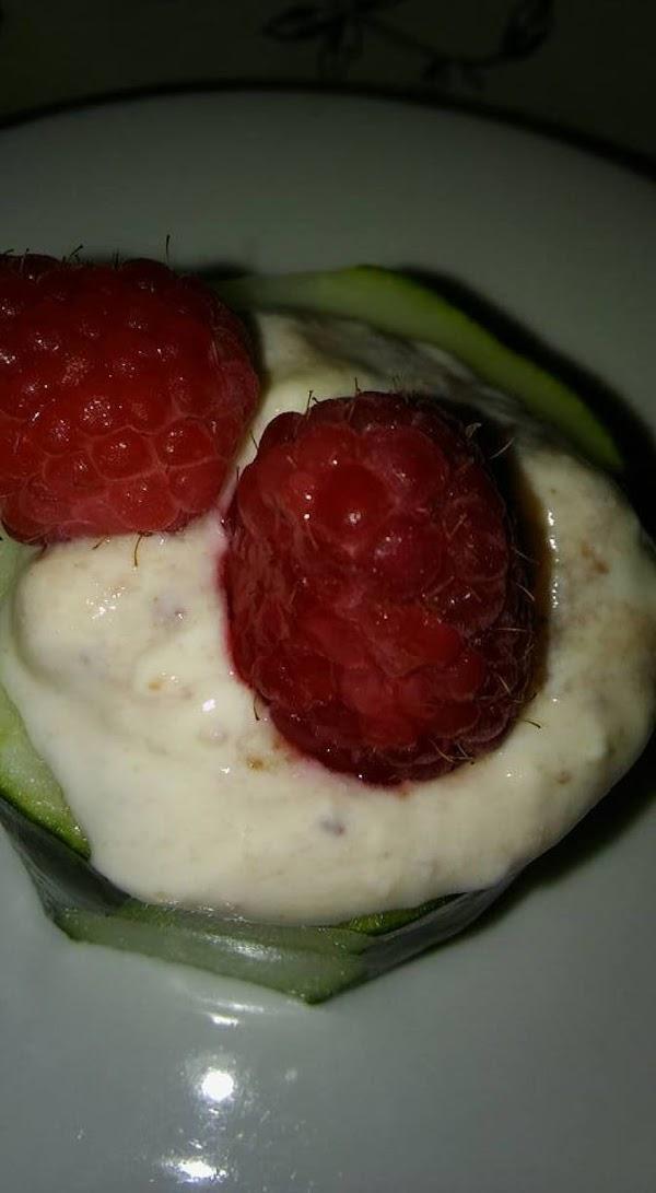 Example of fruit garnish.