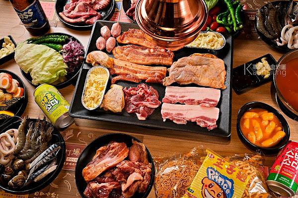 打爆豬韓式燒肉吃到飽