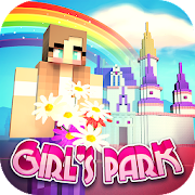 Girls Theme Park Craft: Water Slide Fun Park Games