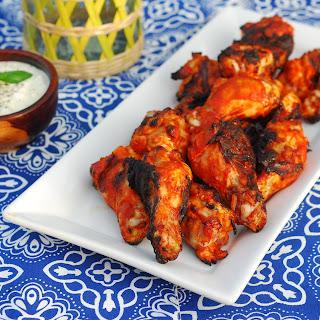 Chipotle Sriracha Buffalo Wings.