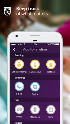 uGrow baby development tracker - screenshot