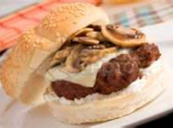Easy Grilled Mushrooms For Mushroom Swiss Burgers Recipe