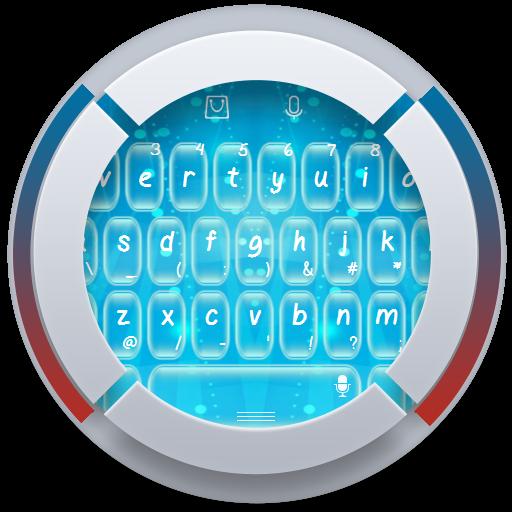 个人化のブルー TouchPal Theme LOGO-記事Game