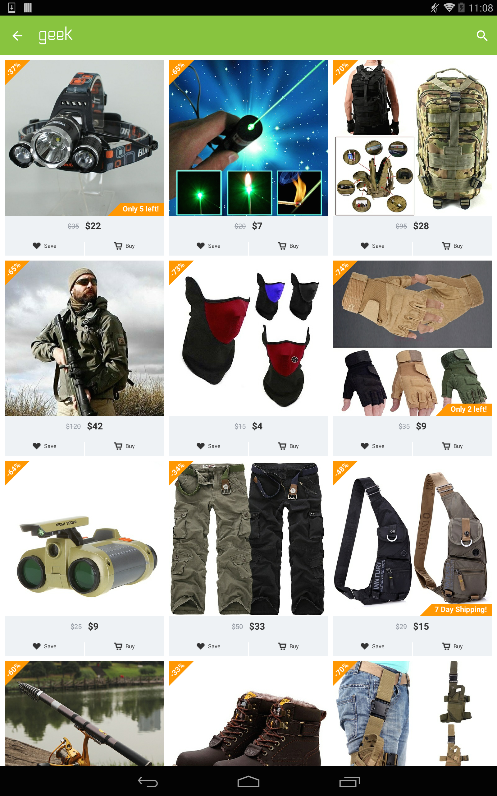 Geek - Smarter Shopping screenshot #13