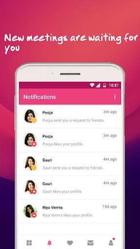 Free Dating App, Match Flirt & Chat - Dating Bunch 2.0 screenshots 4