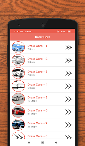 How to Draw Cars 5.0 screenshots 1