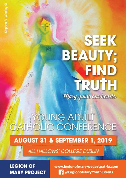 'Seek Beauty; Find Truth' - Young Adult Catholic Conference - Dublin - Aug 31-1 Sept. @ All Hallows' College, | County Dublin | Ireland