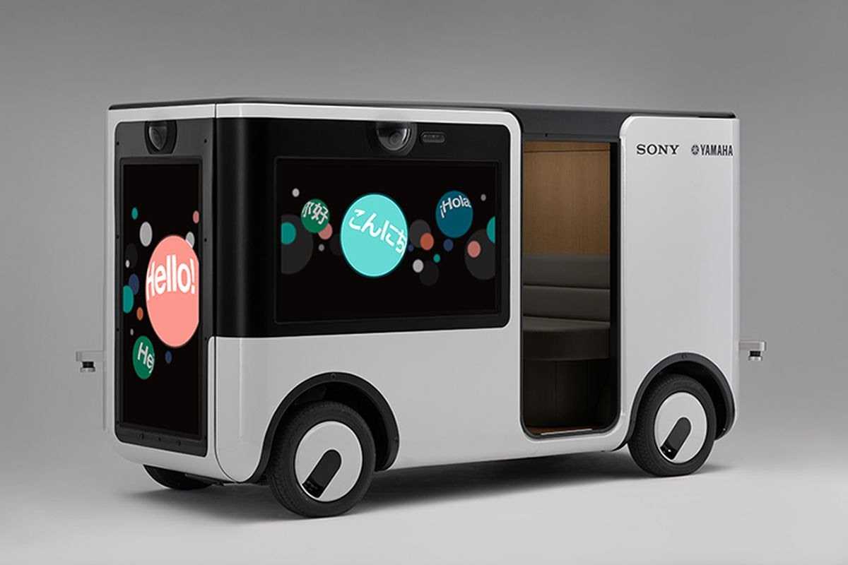 Sony SC-1 Sociable Cart