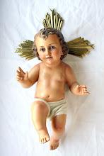 Photo: RESTAURACIÓN DE OBRAS DE ARTE  http://restauradordearte.blogspot.com  La restauración integral de Jesucristo Niño.
