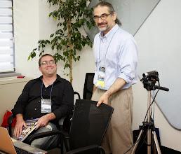 Photo: In the 'Media Stream Studio' with John Bocskay More KOTESOL2013 Media at: http://koreabridge.net/kotesol2013