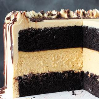Chocolate Pumpkin Cheesecake Cake