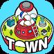 カプセルタウン -眺めて育てて街づくり - Androidアプリ
