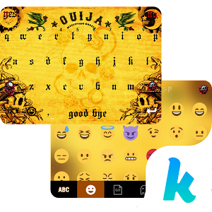 Ouija Kika Emoji KeyboardTheme Icon