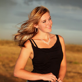 Country Girl by Lisa Kidd - People Portraits of Women ( blonde, country girl, senior )