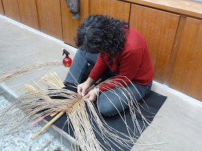 Photo: 20110322藺草編織的創意與技巧005