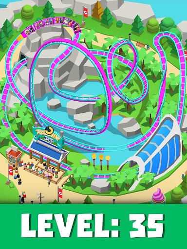 Idle Theme Park Tycoon - Recreation Game apkdebit screenshots 6