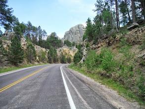 Photo: Day 24 Hot Springs SD to Mt Rushmore (Keystone SD) 53 miles 5600' climbing nearing Mt Rushmore