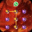 (FREE) Fire Dragon Lock Master Theme icon