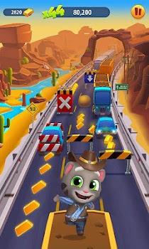 Talking Tom Gold Run 3D Game