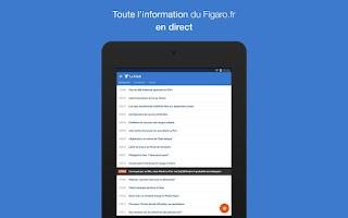 Screenshot of Le Figaro.fr, l'info en direct