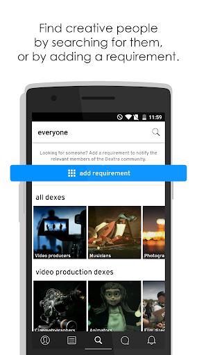 Dextra u2013 A collaborative forum for creative people 2.5.2 screenshots 1