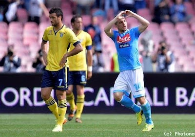 Mertens buteur, Naples vainqueur
